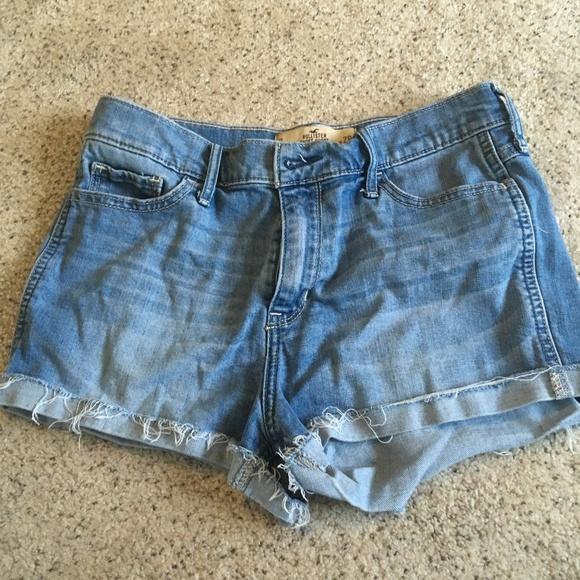 Hollister Pants - Distressed Hollister Shorts